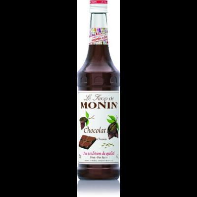 MONIN Csokoládé szirup 0,7l és 0,25 l