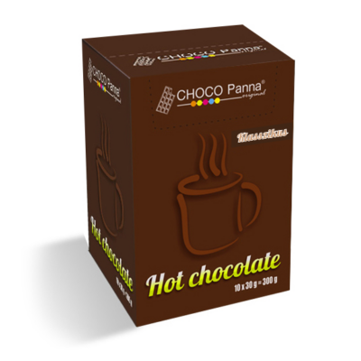 CHOCO Panna forrócsokoládé 10 db/doboz